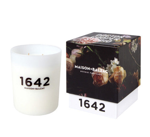 1642 / scented candle - Maison Balzac - The Minimalist Store