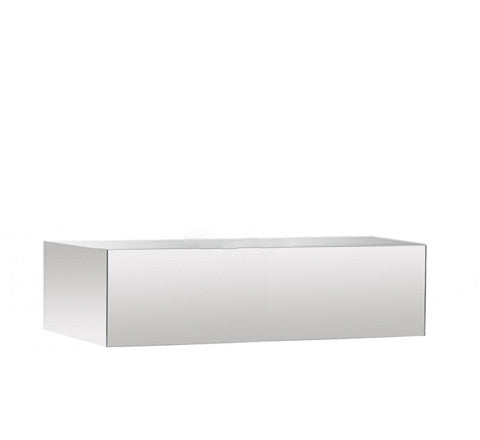 The Minimalist - Low Mirrored Plinth - The Minimalist Store