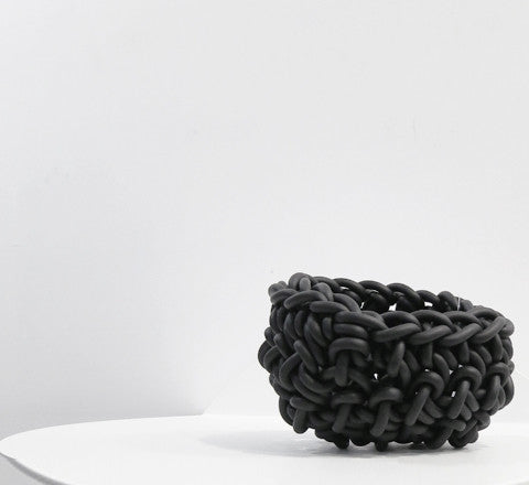 crocheted rubber bowl / three sizes - Neo - The Minimalist Store
