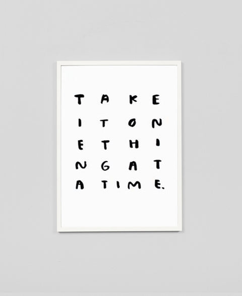 People I've Loved - One Thing / Print - The Minimalist Store