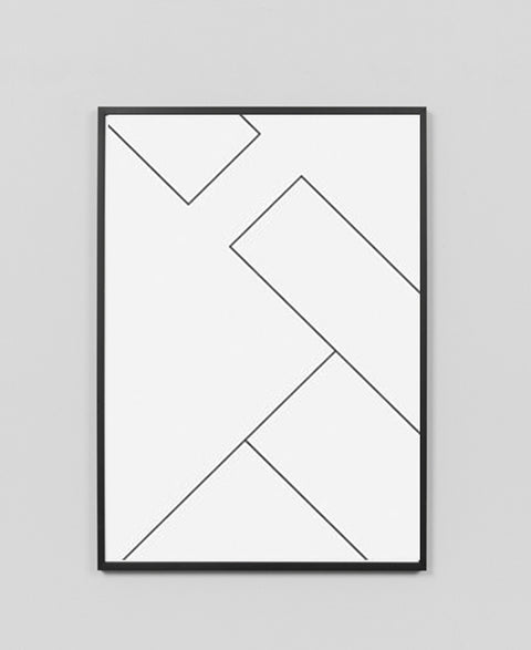 Sly - Peripheral Framed Print - The Minimalist Store