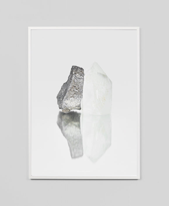 Kristina Dam - Quartz Framed Art Print - The Minimalist Store