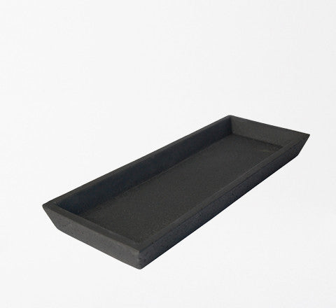 concrete tray / BLACK