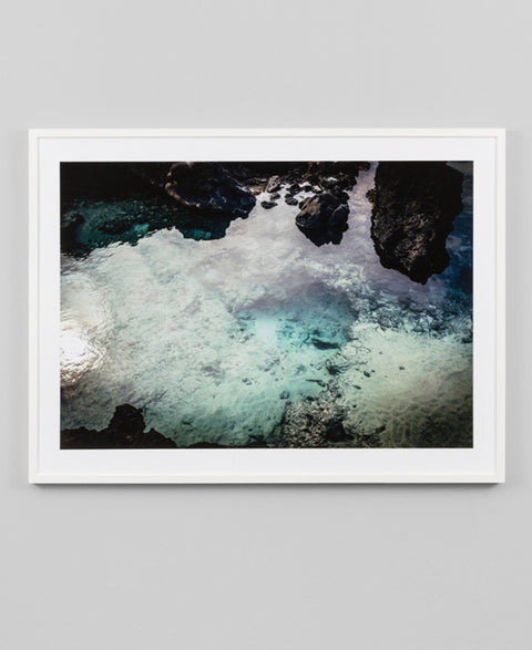 Rockpool Reflections Framed Art Print