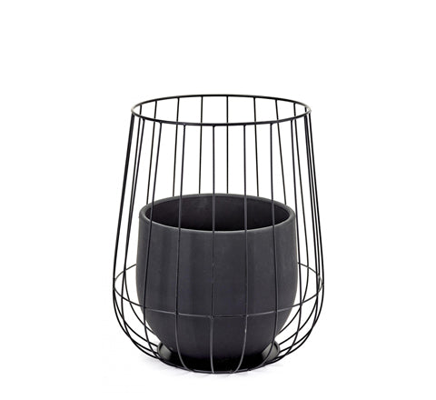 Urban Garden Plant Pot with Cage