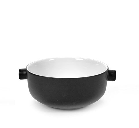salad bowl / black