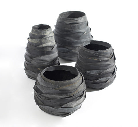 recycled rubber pot - Serax - The Minimalist Store