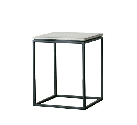 Soho Concrete Side Table The Minimalist Store