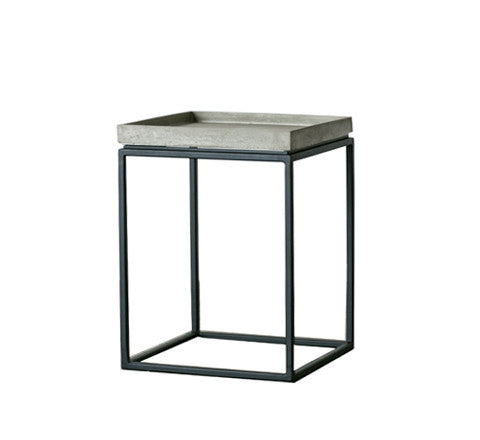 Concrete side table / Tray top