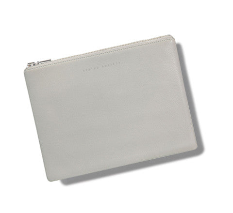 Status Anxiety - Antiheroine Leather Clutch - The Minimalist Store