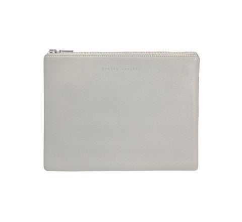 antiheroine leather clutch - Status Anxiety - The Minimalist Store