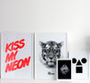 tiger says meow / art print