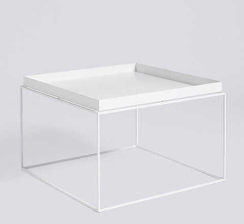 tray coffee table / black or white