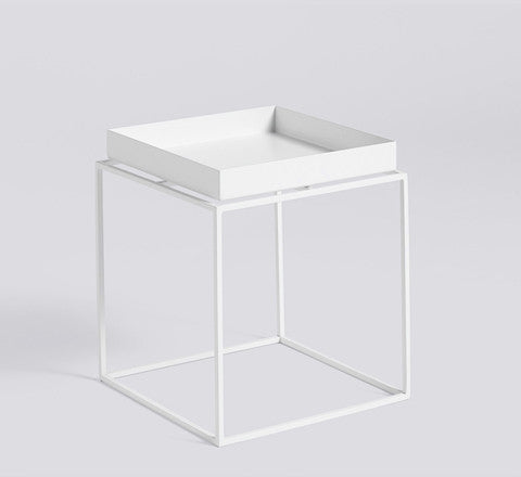 HAY - Small Tray Table / Black Or White - The Minimalist Store