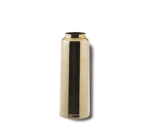 Zakkia - Brass Bottle Vase - The Minimalist Store