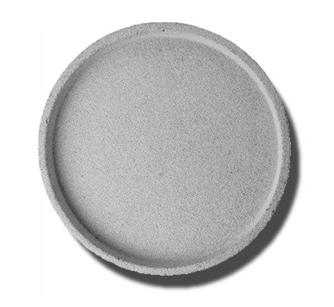 Zakkia - Round Concrete Tray / Two Sizes - The Minimalist Store