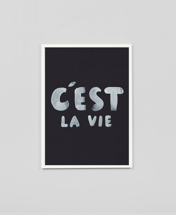 The Adventures Of - C'est La Vie / Limited Edition Print - The Minimalist Store