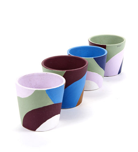 Serax - Small Hand Painted Pots - The Minimalist Store