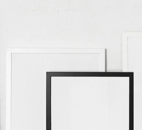 The Minimalist Store | Custom made White Art Frame / 70 x 100 cm