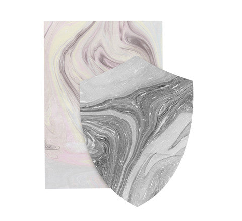 marbled greeting cards