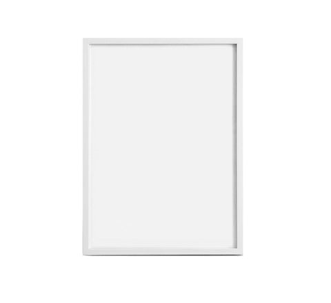 The Minimalist Store | Custom made White Art Frame / 40 x 50 cm