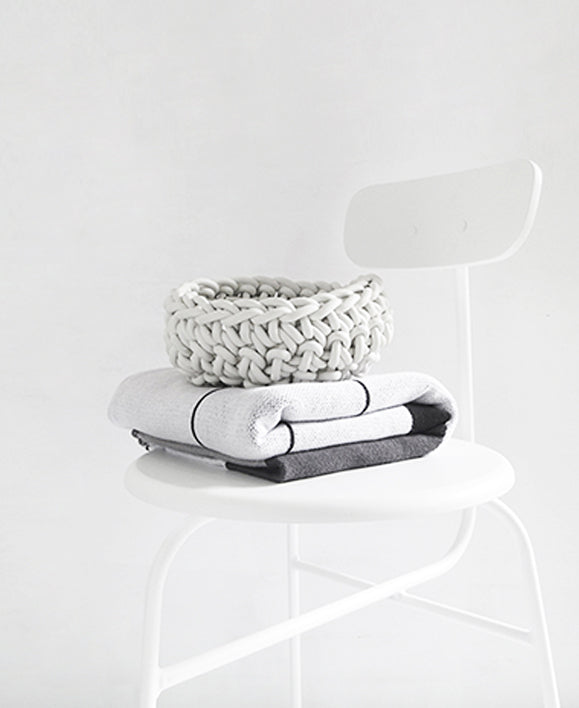 Crocheted Rubber Bowl | 3 Sizes Available