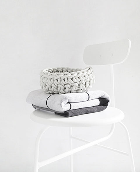 Neo - Crocheted Rubber Bowl | 3 Sizes Available - The Minimalist Store