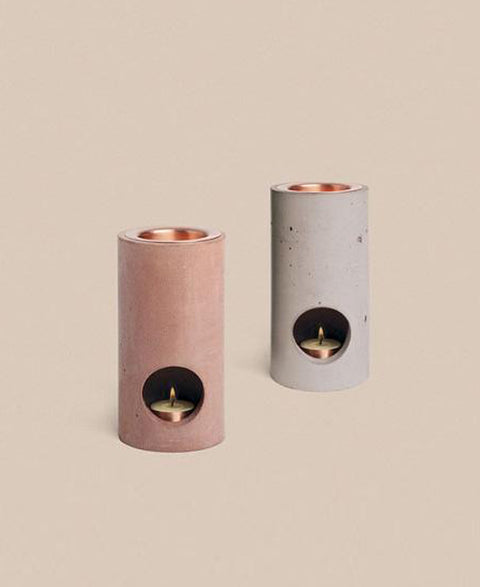 Addition Studio - Rose Concrete Essential Oil Diffuser Set - The Minimalist Store