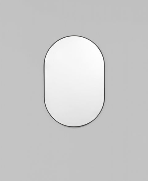 Middle Of Nowhere - Small Oval Mirror | Available in 3 finishes - The Minimalist Store