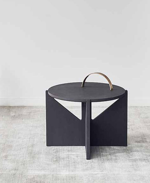 Kristina Dam - Blackened Oak Coffee Table - The Minimalist Store