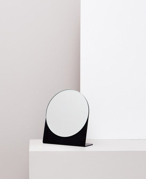 Made Of Tomorrow - Fold Mirror | Black - The Minimalist Store