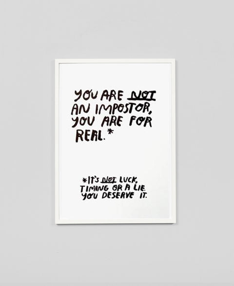 People I've Loved - Imposter / Art Print - The Minimalist Store