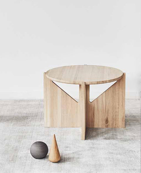 Kristina Dam - Oak Coffee Table - The Minimalist Store