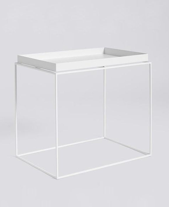 HAY - Hay Tray Side Table | White - The Minimalist Store