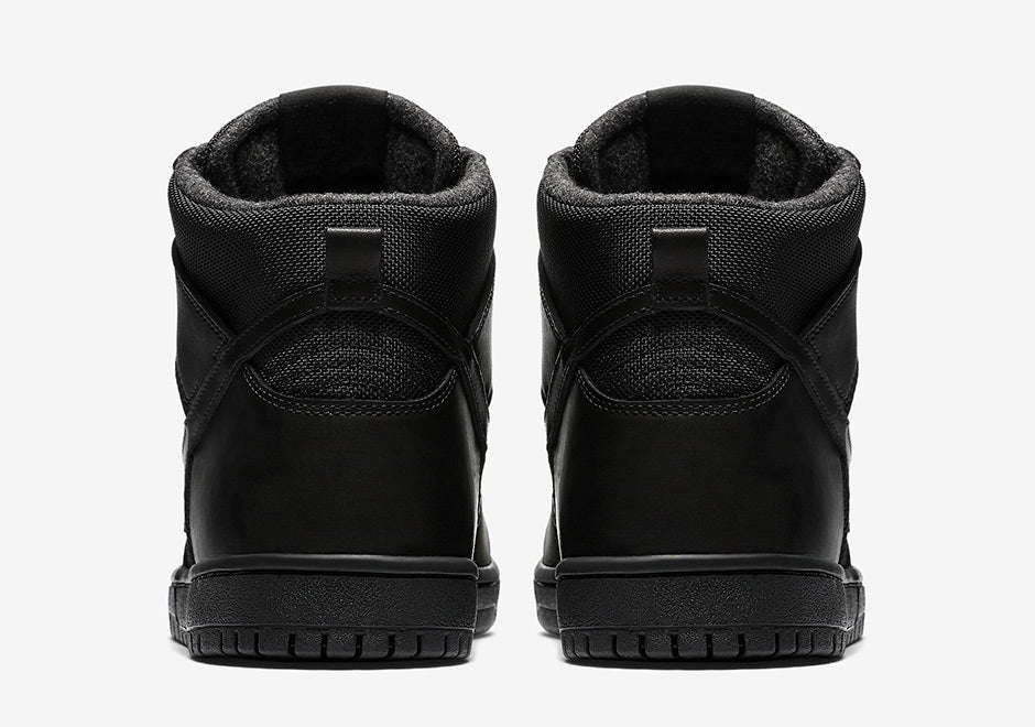 "New Nike SB ""Triple Black"" Dunk High Kicks"