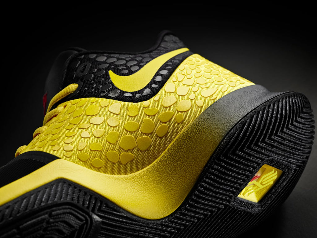 "New Nike Basketball Kyrie 3 ""Bruce Lee Mamba Mentality"" kicks"