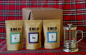 Three 4oz Sample Bag Cupping Kit