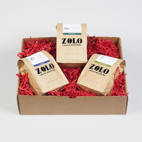 Zolo Gift Box - 3 bags of Zolo Coffee