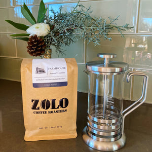 Hario French Press & Free Bag of Farmhouse