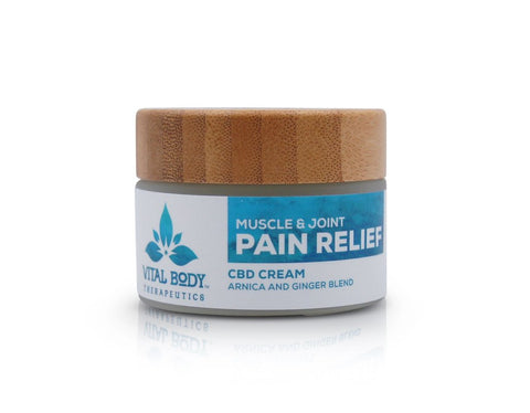 Vital Body Therapeutics CBD Pain Relief Cream