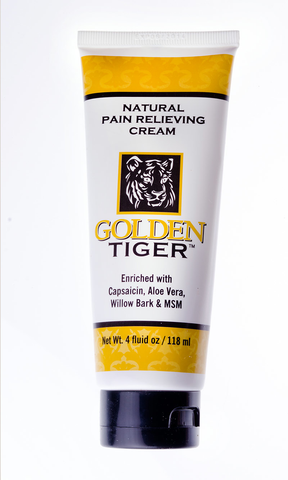 Golden Tiger Natural Pain Relieving Cream