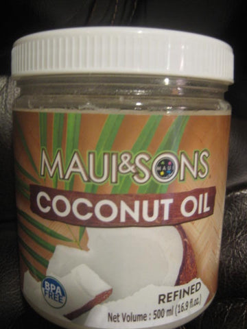Maui & Sons Refined Coconut Oil