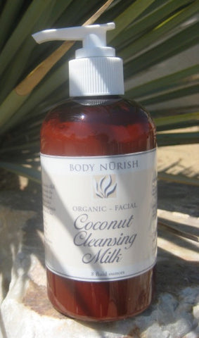 Body Nurish Organic Coconut Cleansing Milk