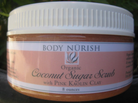 Body Nurish Coconut Sugar Scrub
