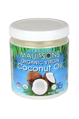 Maui & Sons Organic Virgin Coconut Oil