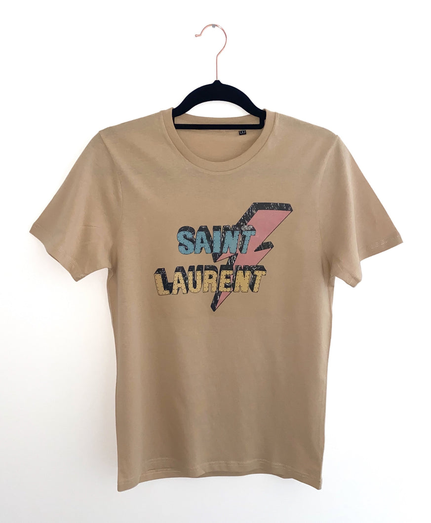 Lightening Tee - Nude