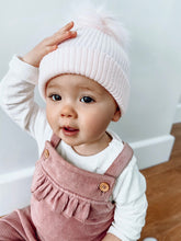 Load image into Gallery viewer, Isla Pink Pom Pom Hat
