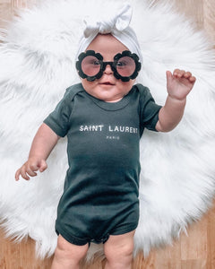 Ain't Laurent Short Sleeve Bodysuit