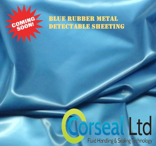 Blue Metal Detectable Nitrile Rubber
