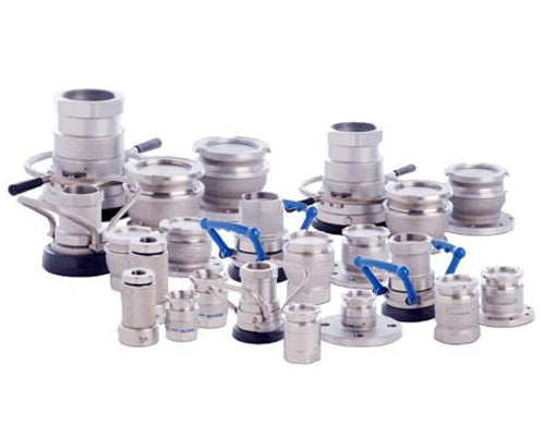 MannTek dry disconnect & safety break-away couplings